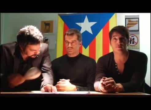 Toni Cantó parodia en un vídeo de UPyD a los nacionalistas catalanes
