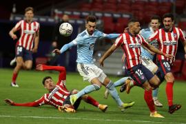 El Celta remonta y logra un empate ante el Atlético de Madrid