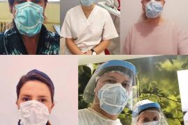 Sanitarios y docentes prueban con éxito el sellado de las mascarillas quirúrgicas patentado por ADEMA