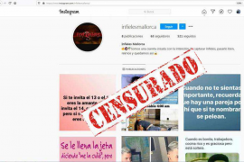 Los administradores de 'Infieles Mallorca' cierran la cuenta ante el aluvión de denuncias
