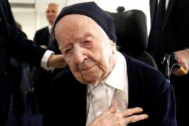 Sor André, la persona más anciana de Europa, supera la COVID y se prepara para su próximo cumpleaños
