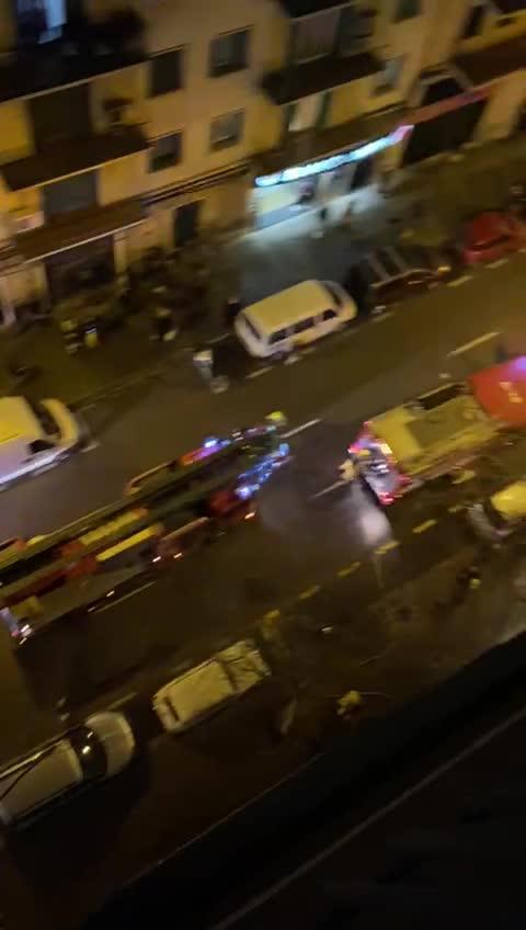 Alarma por un incendio en un piso en Palma
