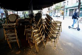 La restauración seguirá cerrada 15 días más en Mallorca