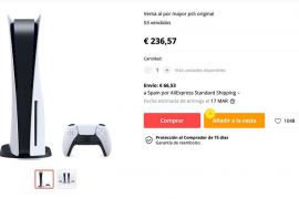 Playstation 5 por 236€ y Xbox Series X por 143€
