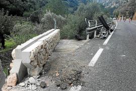 Patrimoni controlará las obras en la Serra para evitar 'descuidos' como el de los pretiles