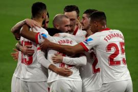 El Sevilla toma ventaja para la vuelta del Camp Nou