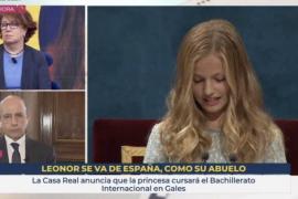 Consejo de Informativos de TVE abre una investigación por el rótulo de Leonor