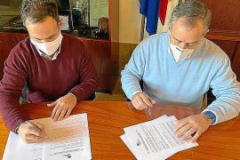 PP y PI rubrican un acuerdo para dotar de alcantarillado las zonas de huertos en sóller