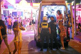 Condenado un turista francés por agredir a los sanitarios que le atendieron en Magaluf