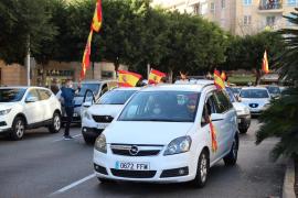 Delegación del Gobierno autoriza la marcha de Foro Baleares e insta a no abandonar los vehículos «en ningún momento»