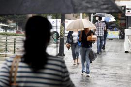 Alerta amarilla  por lluvias en Mallorca y Menorca