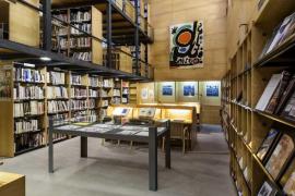 La biblioteca de la Fundació Miró recibe el nombre de Pilar Juncosa