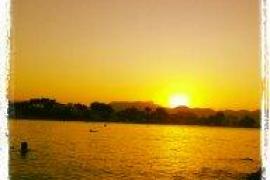 Puesta de sol en Alcudia