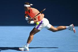 Nadal avanza a cuartos de final del Open de Australia tras derrotar a Fognini