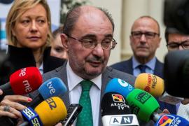 El presidente de Aragón padece cáncer y seguirá al frente del cargo