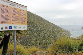 Medi Ambient aprueba con matices la supresión del paso público a Cala Castell
