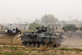 Israel hace disparos de advertencia tras caída de un obús sirio en el Golán