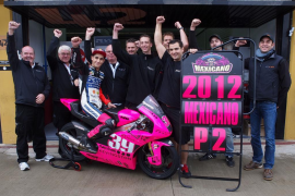Salom consigue el subcampeonato de Moto3