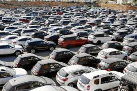La venta de automóviles cae en picado en Balears