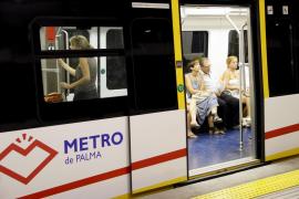 El metro de Palma acumula una pérdida de viajeros del 4 % en 2012