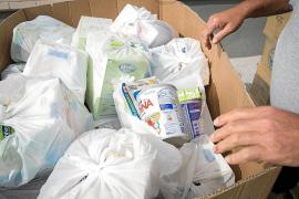 El 13,5 % de los vecinos de Alcúdia depende del banco de alimentos para poder comer
