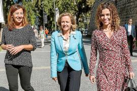 Nadia Calviño y Francina Armengol