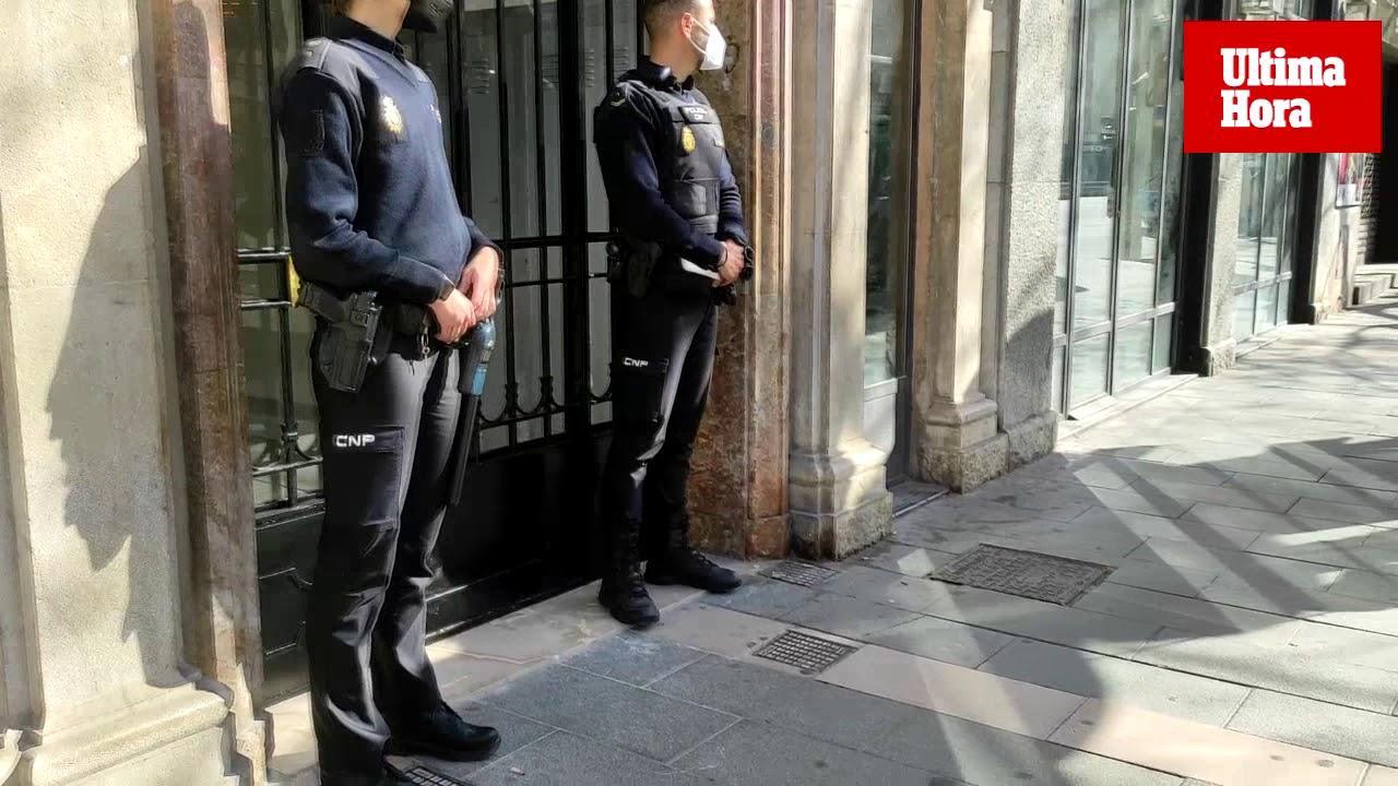 Gran operación policial en Palma por una estafa millonaria en la que hay implicados abogados y funcionarios