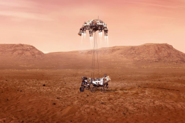 La Perseverance en Marte, un aterrizaje planetario por primera vez en español