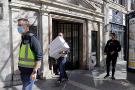 Investigan a un alto funcionario de Extranjería, a un técnico del Tamib y a un guardia civil en la trama de corrupción de Palma