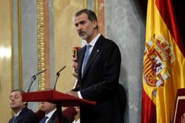 El Rey dará un discurso en el Congreso para conmemorar el 40 aniversario del fracaso del 23F