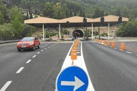 Un recurso ante el Supremo imposibilitará que regrese el peaje al túnel de Sóller