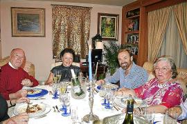 Cena entre amigos de Gabriel Roca e Isabel Lloret