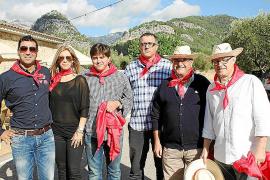 Fiesta de la aceituna en Oli Caimari