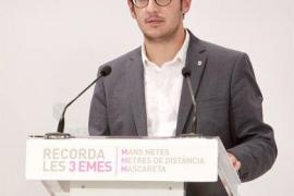 La OCB reconoce el esfuerzo de Negueruela por hablar en catalán y lo anima a perseverar