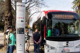 El primer autobús sin conductor en Europa arranca sus motores en Málaga