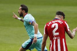 Morales deja tocado al Atlético