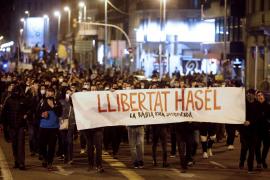 Se repiten las manifestaciones en apoyo al rapero Hasél en diversas ciudades