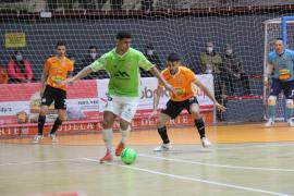 El Palma Futsal gana con autoridad al Ribera Navarra
