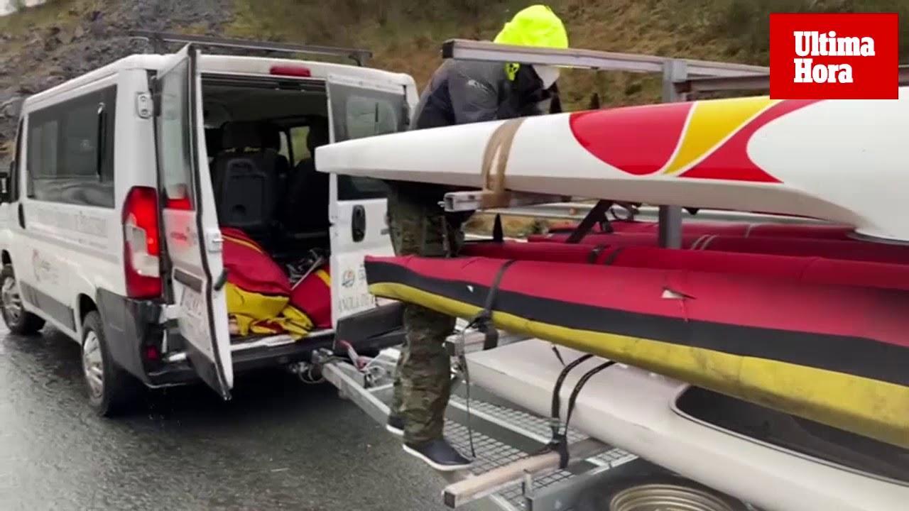 Recuperan las embarcaciones de Marcus Walz y el equipo español tras el accidente