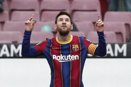 El Cádiz, víctima número 38 de Messi en la Liga