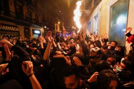 Balance de cinco noches de disturbios: 102 detenidos y 82 mossos heridos en Barcelona