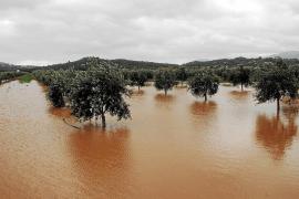 Las lluvias causan inundaciones en Mallorca y una riada entra en un colegio de sa Pobla