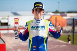 Fuerte accidente sin consecuencias graves del joven piloto Lucas Fluxá