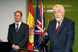 Despedida al cónsul británico en Balears