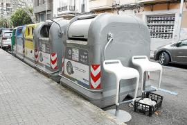 El alcalde insiste a la ciudadanía que haga un uso cívico de los contenedores