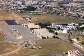 Tres detenidos cuando intentaban robar tubos de cobre en el aeródromo de Son Bonet