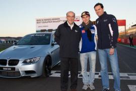 Jorge Lorenzo, vencedor del premio al mejor piloto de entrenamientos