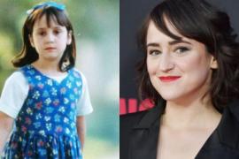La actriz de 'Matilda' revela que recibió cartas «de amor» de hombres de 50 años