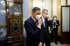El Congreso mantiene inviolabilidad del rey con el apoyo del PSOE, PP Vox y Cs