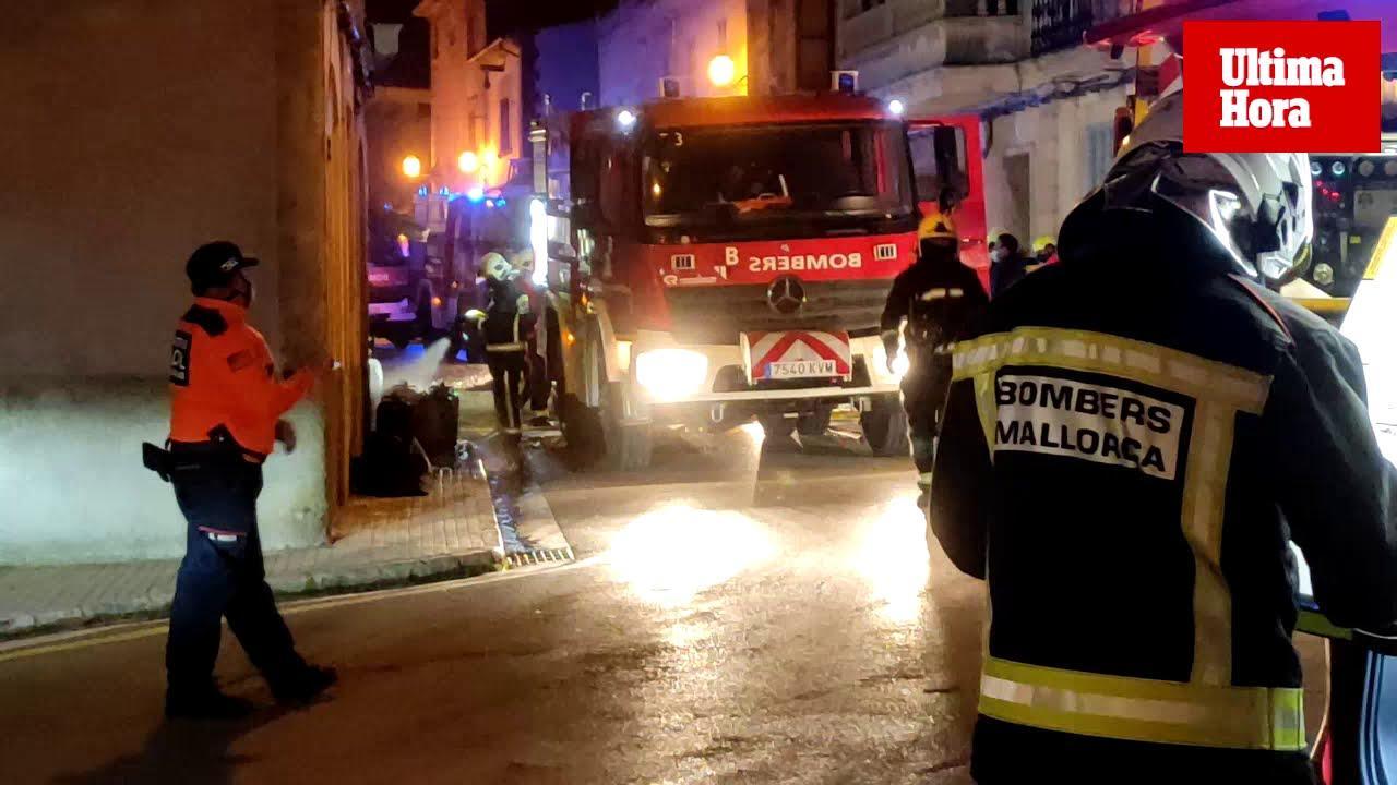 Vecinos de Algaida: «Parecía que había explotado una bomba, ha sido horroroso»